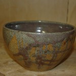 Red drizzle bowl for customer - gas reduction firing