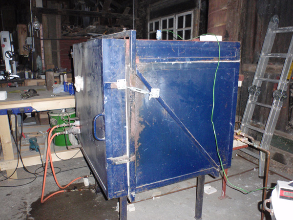The big gas reduction kiln